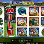 【オンラインカジノ】Rugby Star wildpass
