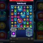 【オンラインカジノ】かわいいモンスターのゲームで10万くらい当たった!