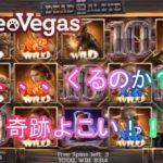 【オンラインカジノ】【レオベガス】DEAD OR ALIVE2