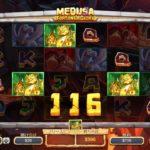 【オンラインカジノ】Medusa Fortune & Glory freespins glory feature