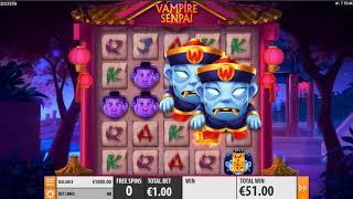 【最新スロット】ヴァンパイアセンパイ(Vampire Senpai)プレイ動画【オンラインカジノ】