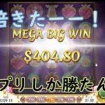 【オンラインカジノ】フリスピ中にアクシデント発生!?400倍ゲットだぜ!!!【ムーンプリンセス】