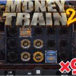 ×916+792 マネトレ2 【Money Train2】 フリースピン オンラインカジノ スロット マネートレイン2 ♯④