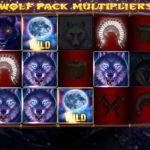 【オンラインカジノ】Howling Wolves Wolf Pack Multipliers