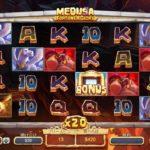 【オンラインカジノ】Medusa Fortune & Glory freespins fortune feature