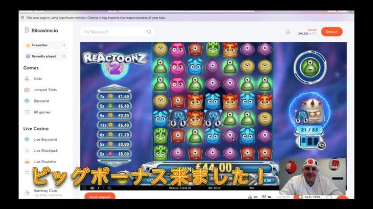 【ビットカジノ | Bitcasino】把瑠都のガンバルトトーナメント!ライブ配信ハイライト