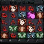 ベラジョンカジノのコインを使ってブック・オブ・シャドウ(Book of Shadows)というスロットで遊んでみた