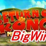 1070倍!?オンラインカジノ Return of Kong Megaways